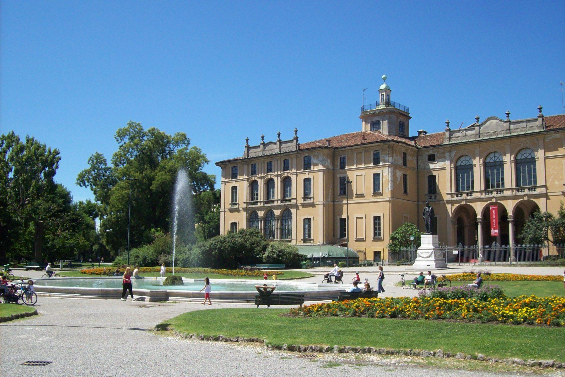 giardini indro montanelli porta Venezia milan italy park
