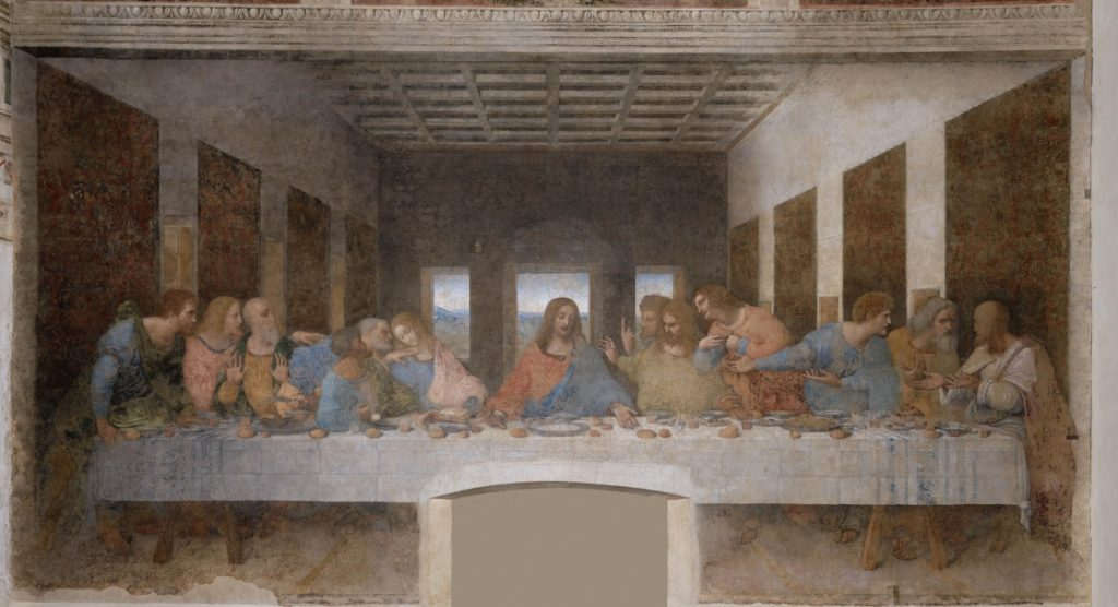 Leonardo Da Vinci Last Supper Milano santa maria delle grazie church italy art