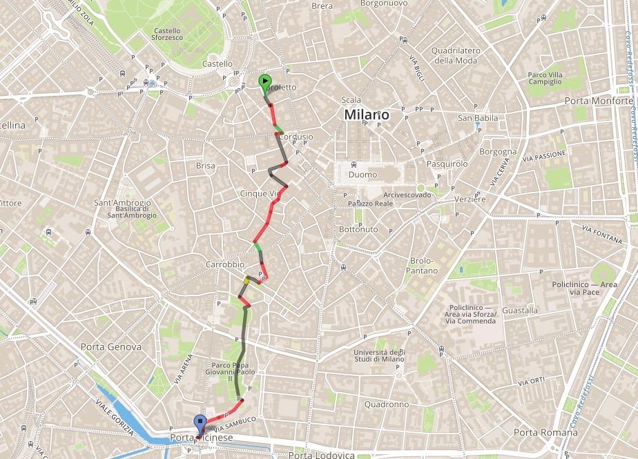 map navigli district bicycle bike rental milan Italy