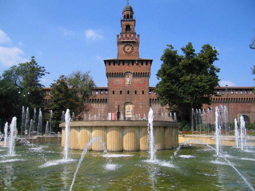 castello sforzesco milano Leonardo Da Vinci