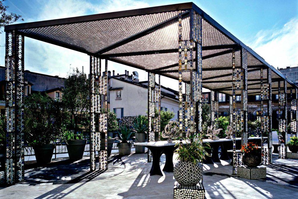 10 corso como terrace roof garden aperitif café