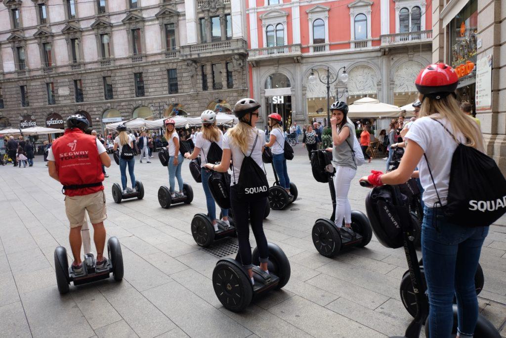 Bachelorette Party Segway Tour Milan
