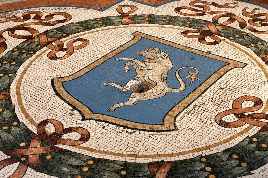 Galleria Vittorio Emanuele Milan Bull Mosaic City Turin Good Luck