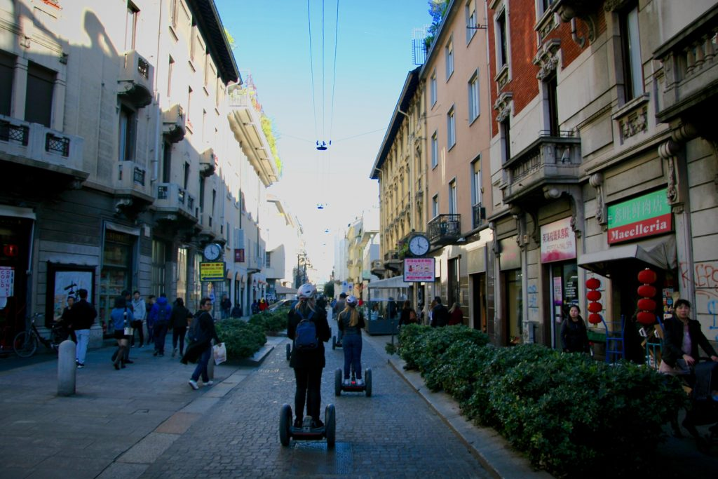 Discover Milan Chinatown on Segway