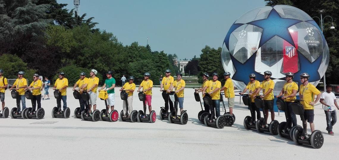 Team Building Segway Segway Tour Milan