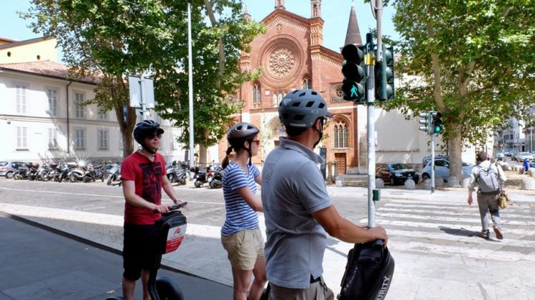 Churches Segway Private Tour in Milan
