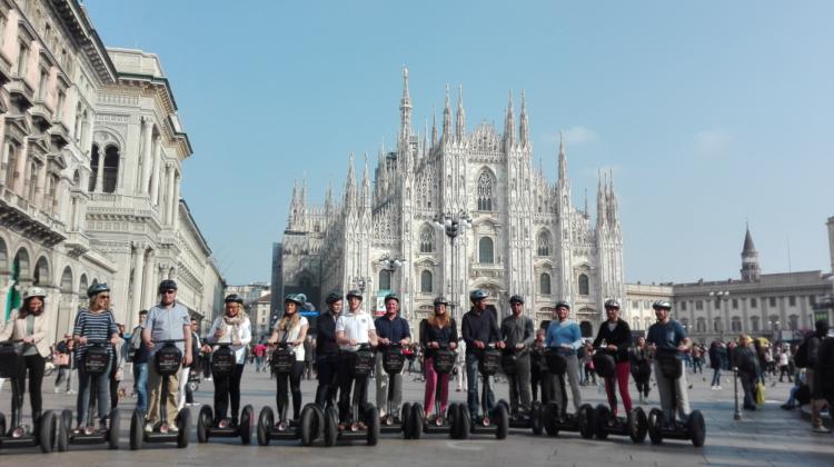Segway Tour Milan Duomo