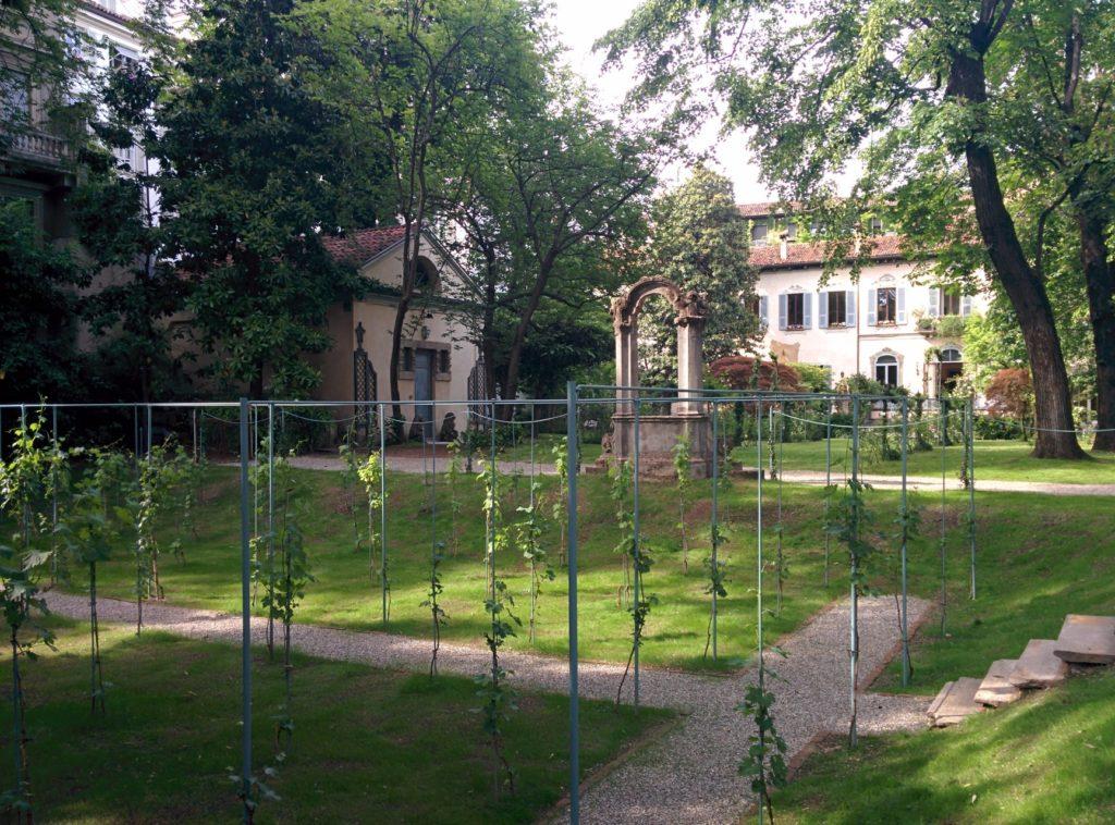 la vigna di Leonardo palazzo stelline milano