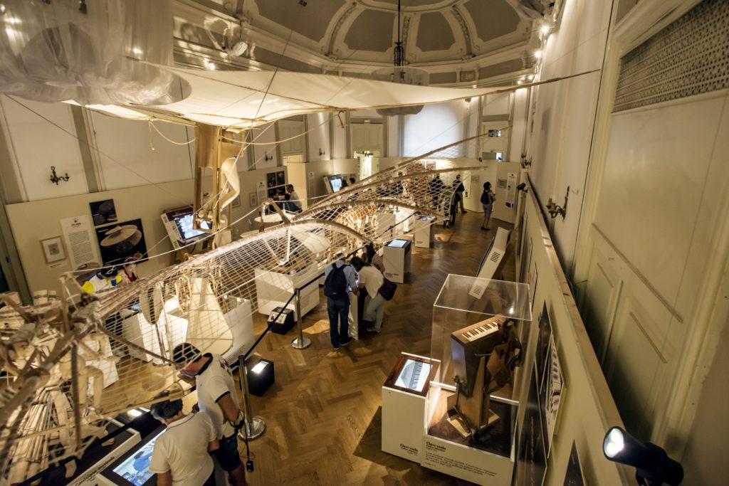 Leonardo Da Vinci exhibition milan italy