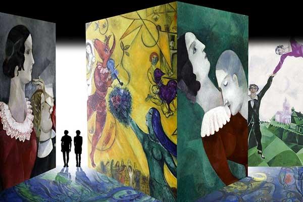 Museo della Permanente Milano Marc Chagall show exhibition