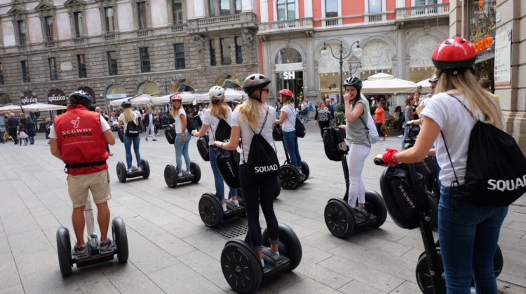 Bachelorette Party Segway Tour Milan