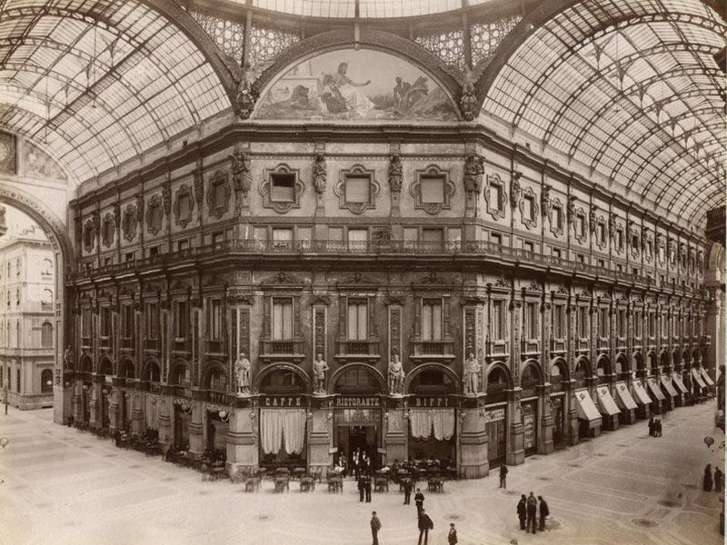 Galleria Vittorio Emanuele Milano History