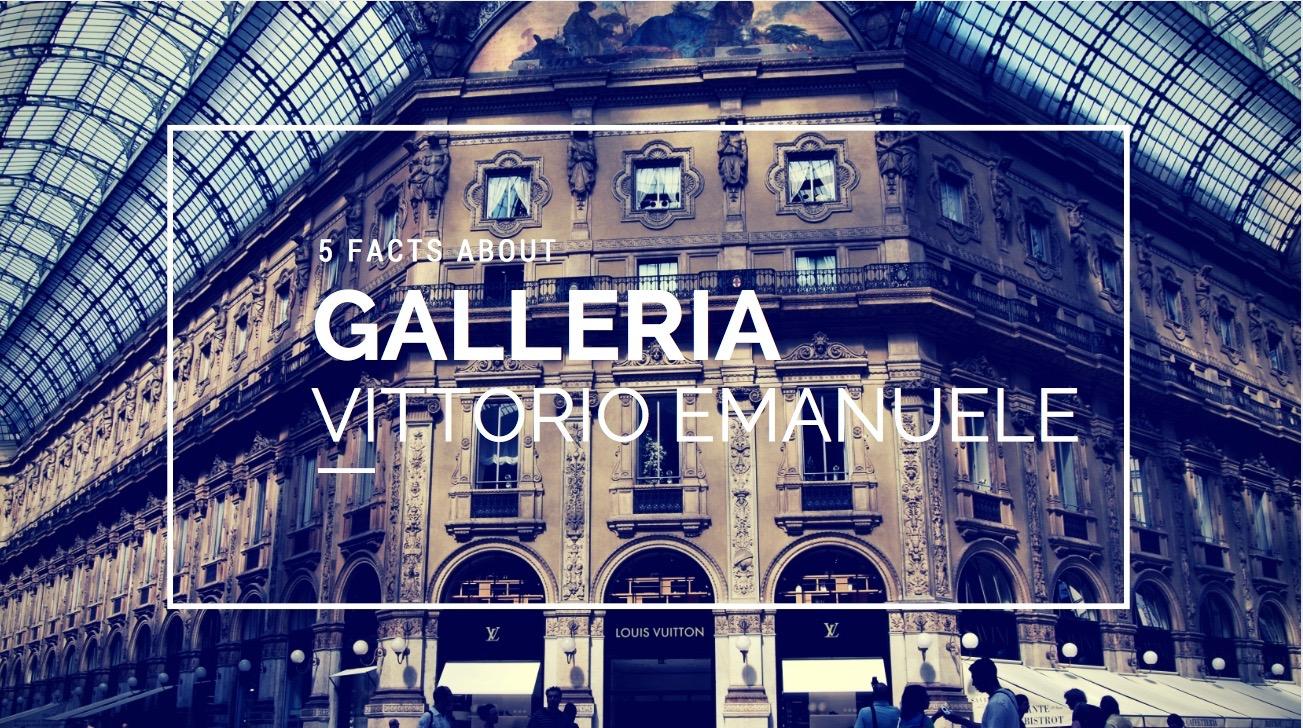 5 Facts About Galleria Vittorio Emanuele Segway Tour Milan